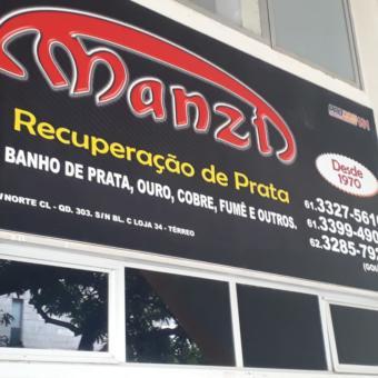 Manzi Recuperação de Prata, banho de prata, ouro, fume, CLN 303, Quadra 303 Norte, Bloco C, loja 34, Comércio Brasília
