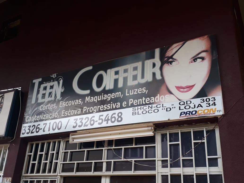 Teen Coiffeur Salão de Beleza, Corte, Escova, Maquiagem, CLN 303, Quadra 303 Norte, Bloco D, Comércio Brasília