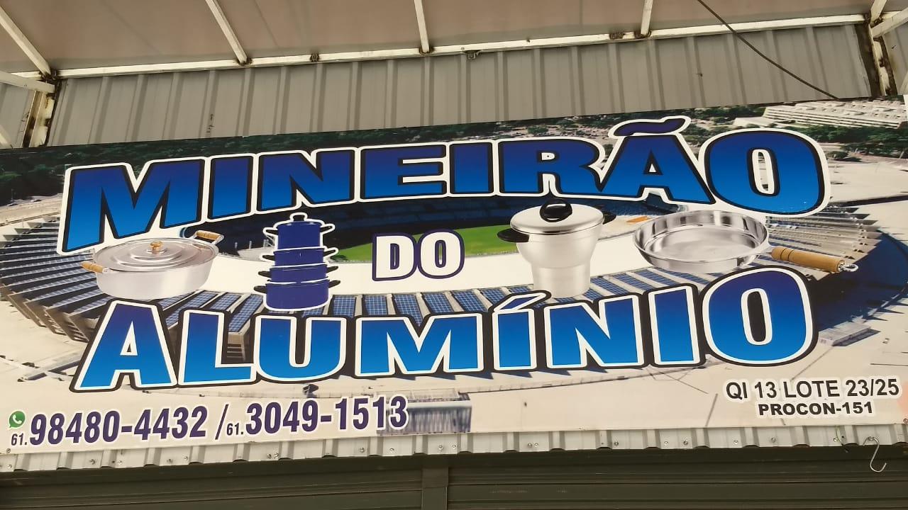 Mineirão do Alumínio Feira dos Goianos, Avenida Hélio Prates, Taguatinga Norte, Comércio de Brasília, DF