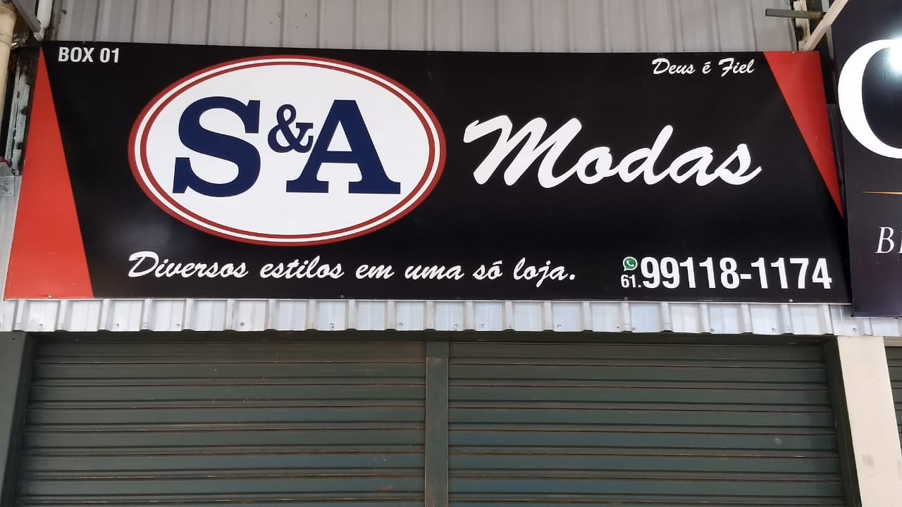 S e A Modas Feira dos Goianos, Avenida Hélio Prates, Taguatinga Norte, Comércio de Brasília, DF-