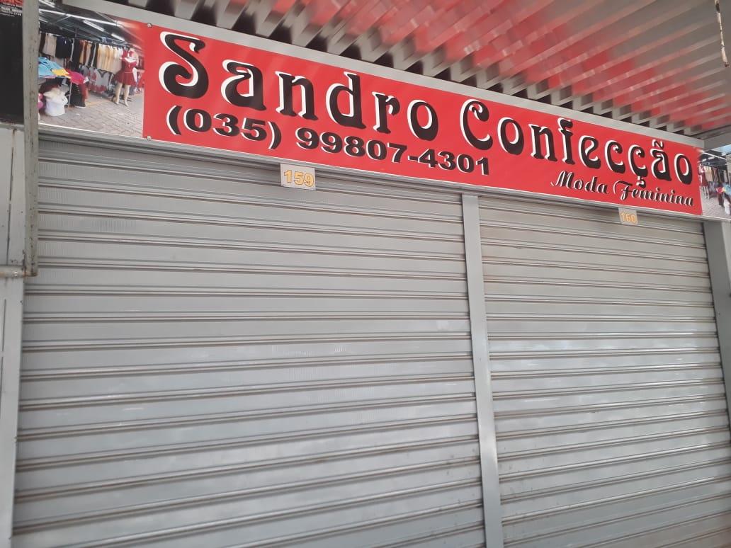 Sandro Confecção Moda Feminina Feira dos Goianos, Avenida Hélio Prates, Taguatinga Norte, Comércio de Brasília, DF
