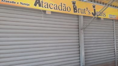 Atacadão Bruts Jeans Feira dos Goianos, Avenida Hélio Prates, Taguatinga Norte, Comércio de Brasília, DF