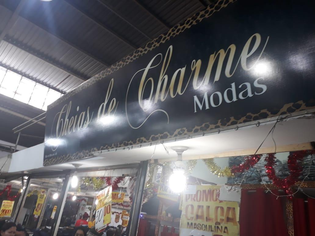 Cheias de Charme Modas Feira dos Goianos, Avenida Hélio Prates, Taguatinga Norte, Comércio de Brasília, DF