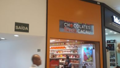 Chocolates Brasil Cacau JK Shopping, Avenida Hélio Prates, Taguatinga Norte, Comércio de Brasília, DF