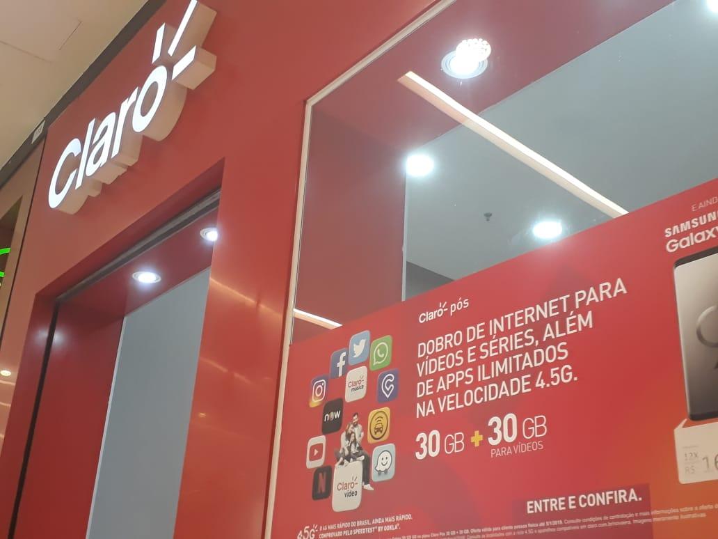 Claro Celular JK Shopping, Avenida Hélio Prates, Taguatinga Norte, Comércio de Brasília, DF