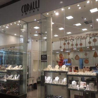 Coralli Jóias, JK Shopping, Avenida Hélio Prates, Taguatinga Norte, Comércio de Brasília, DF