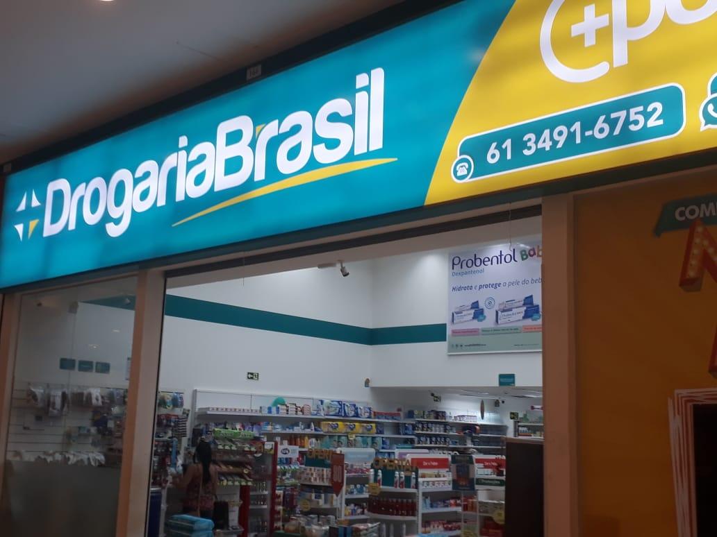 Drogaria Brasil JK Shopping, Avenida Hélio Prates, Taguatinga Norte, Comércio de Brasília, DF