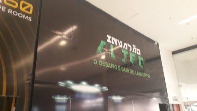 Photo of Invasão Alien, o desafio é sair do labirinto, Avenida Hélio Prates
