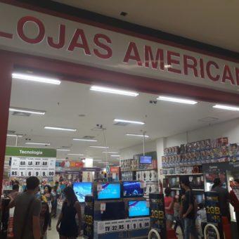 Lojas Americanas, JK Shopping, Avenida Hélio Prates, Taguatinga Norte, Comércio de Brasília, DF