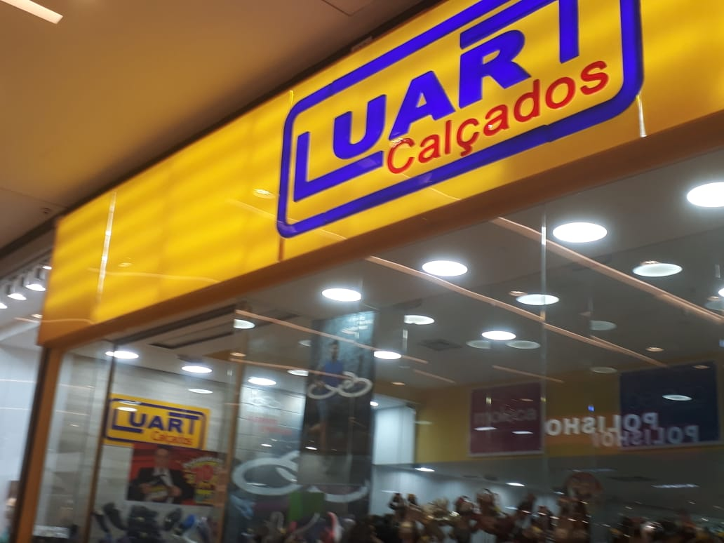Luart Calçados JK Shopping, Avenida Hélio Prates, Taguatinga Norte, Comércio de Brasília, DF