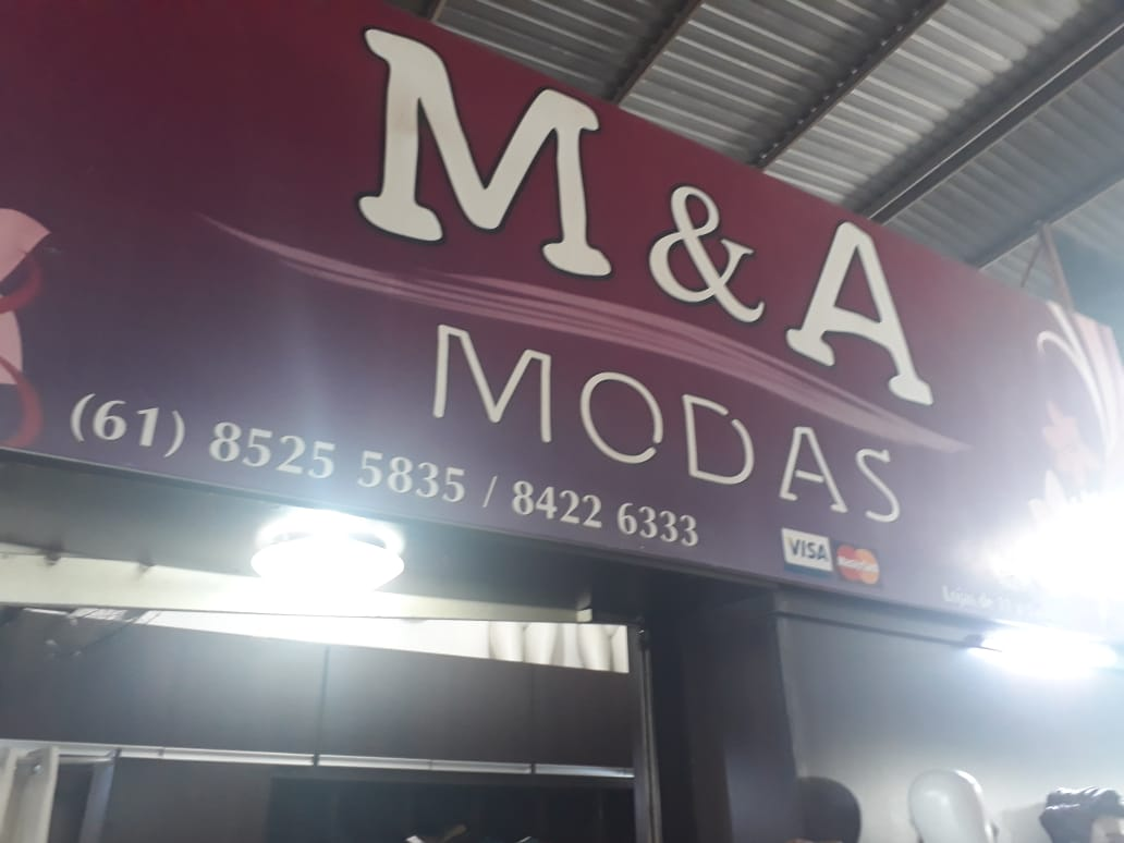 M e A Modas, Feira dos Goianos, Avenida Hélio Prates, Taguatinga Norte, Comércio de Brasília, DF