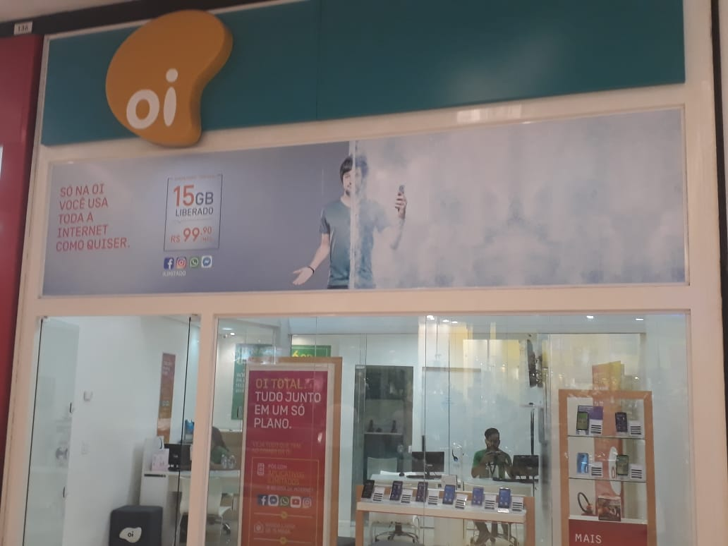 Oi Celular JK Shopping, Avenida Hélio Prates, Taguatinga Norte, Comércio de Brasília, DF