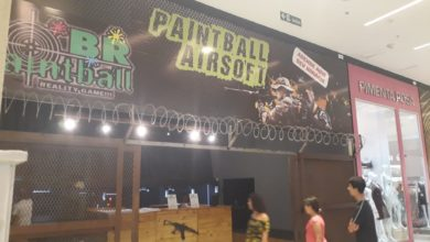 Paint Ball Air Soft JK Shopping, Avenida Hélio Prates, Taguatinga Norte, Comércio de Brasília, DF