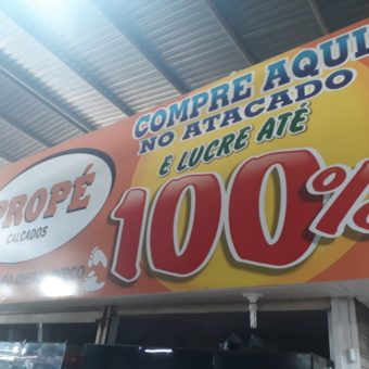 Propé Calçados Feira dos Goianos, Avenida Hélio Prates, Taguatinga Norte, Comércio de Brasília, DF