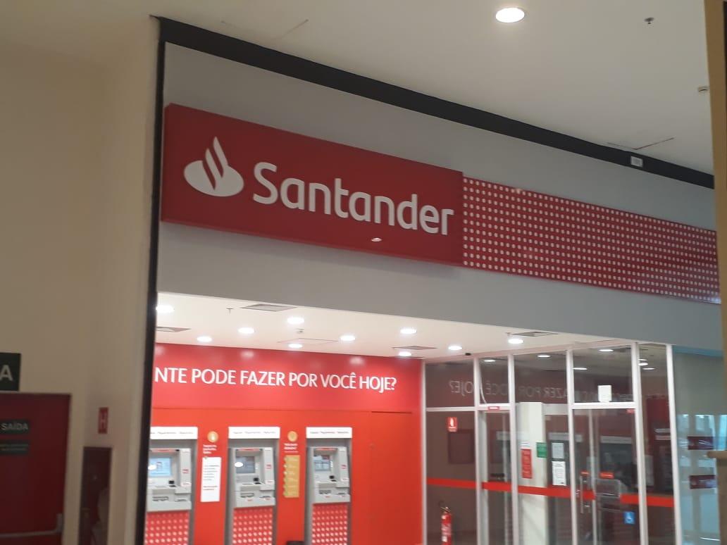 Santander, JK Shopping, Avenida Hélio Prates, Taguatinga Norte