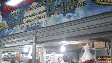 Banca das Baianas, farináceos em geral, Feira do Guará, Brasília-DF