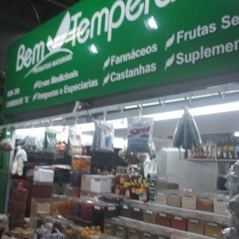 Bem Temperado, temperos e especiarias, ervas medicinais, farináceos, suplementos, Feira do Guará, Brasília-DF