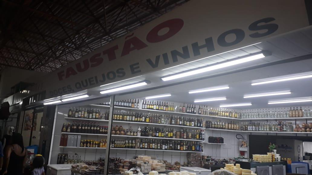 Faustão, Doces, Queijos e Vinhos, Feira do Guará, Brasília-DF