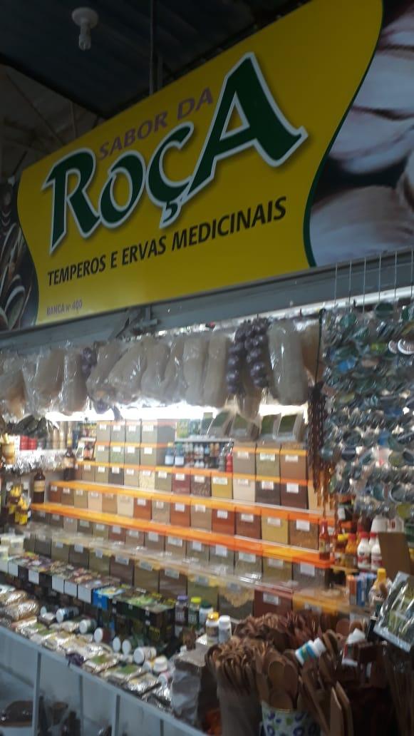 Sabor da Roça, temperos e ervas medicinais, Feira do Guará, Brasília-DF