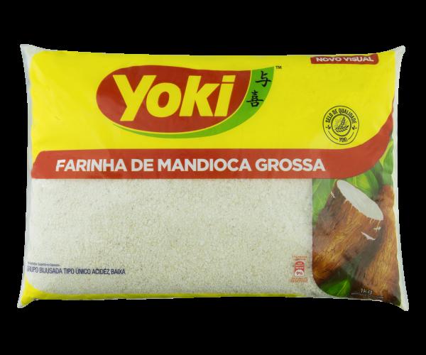 Farinha de Mandioca Grossa YOKI Pacote 1kg