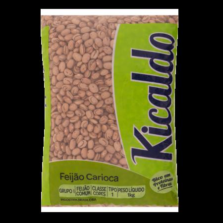 Feijão Carioca Tipo 1 KICALDO Pacote 1kg