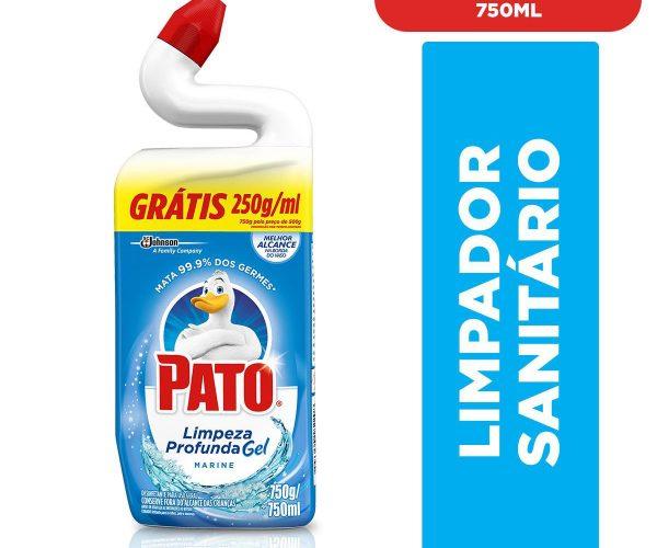 Limpador para Sanitário PATO Germinex Marine 5 em 1 500ml Grátis 250ml