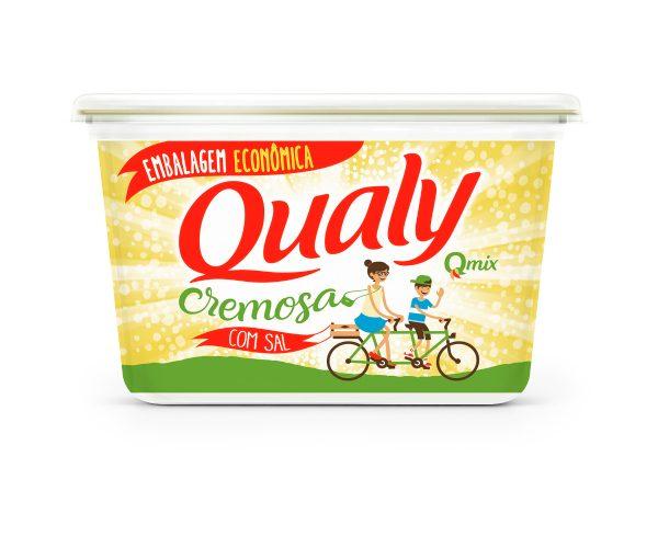 Margarina Cremosa com Sal QUALY Pote 500g
