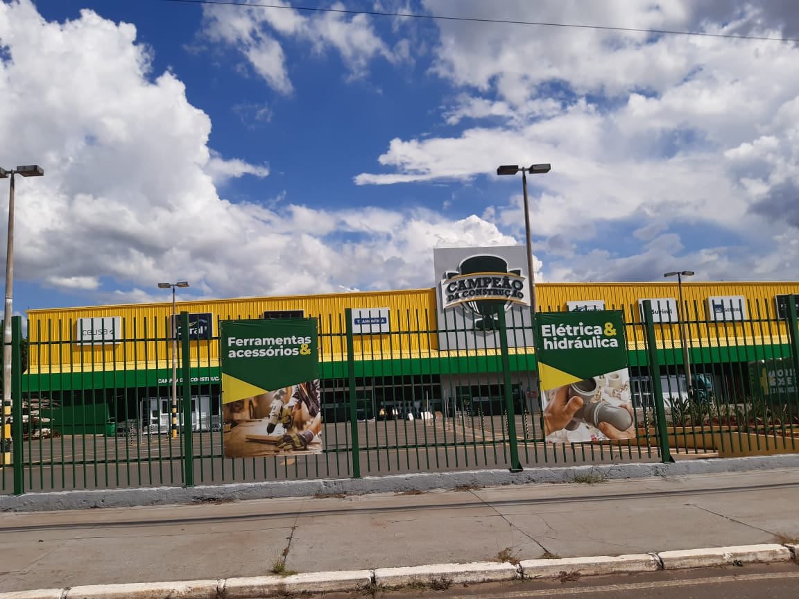 Campeão da Construção, materail de construção no SIA, SIA Trecho 2, Comercio Brasilia