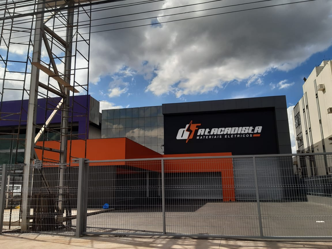DF Atacadista, materiais elétricos, SIA trecho 4, Guará, Comércio Brasilia