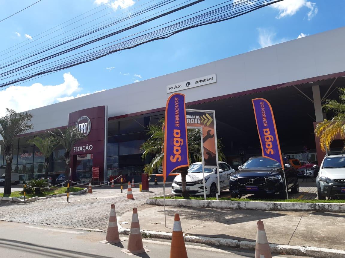 Estação Fiat, concessionária fiat, SIA Trecho 2, Comercio Brasilia