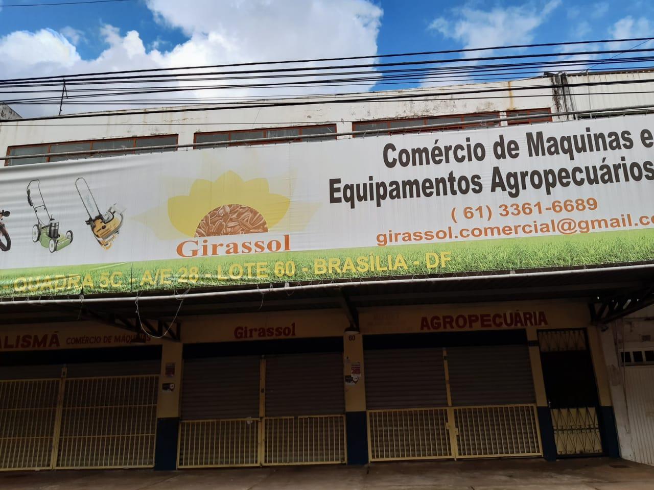 Girassol Comércio de máquinas e equipamentos agrícolas, SIA Trecho 5, Comercio Brasilia