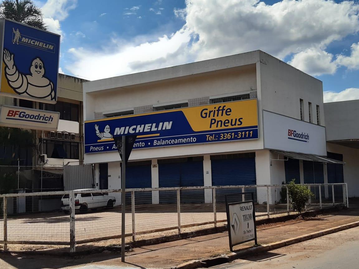 Griffe Pneus, michelin, alinhamento, balanceamento, SIA Trecho 2, Comercio Brasilia