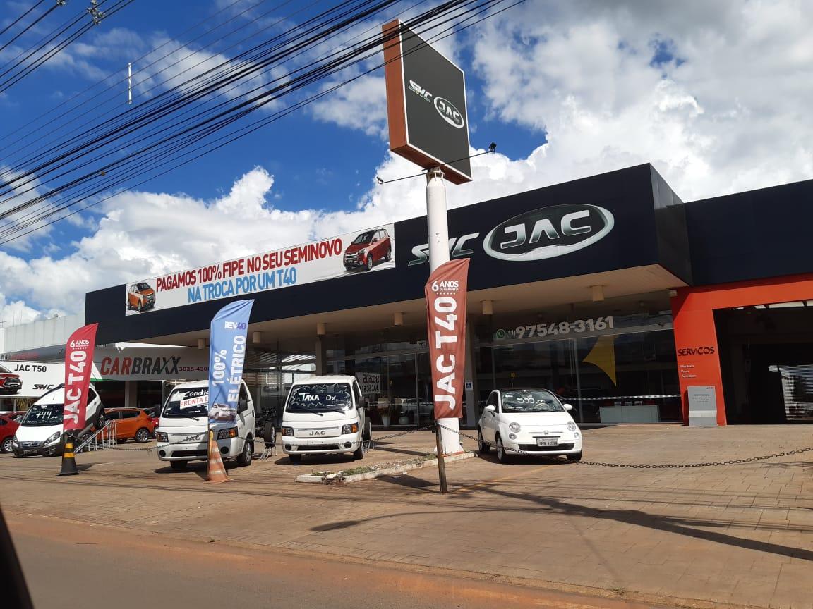 JAC Motors, SIA Trecho 1, Guará, Comércio Brasilia