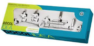 Kit Acessórios Idea 5 peças Docol, comercio brasilia