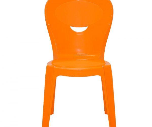 Kit Mesa Infantil Laranja e Azul Tramontina cadeira