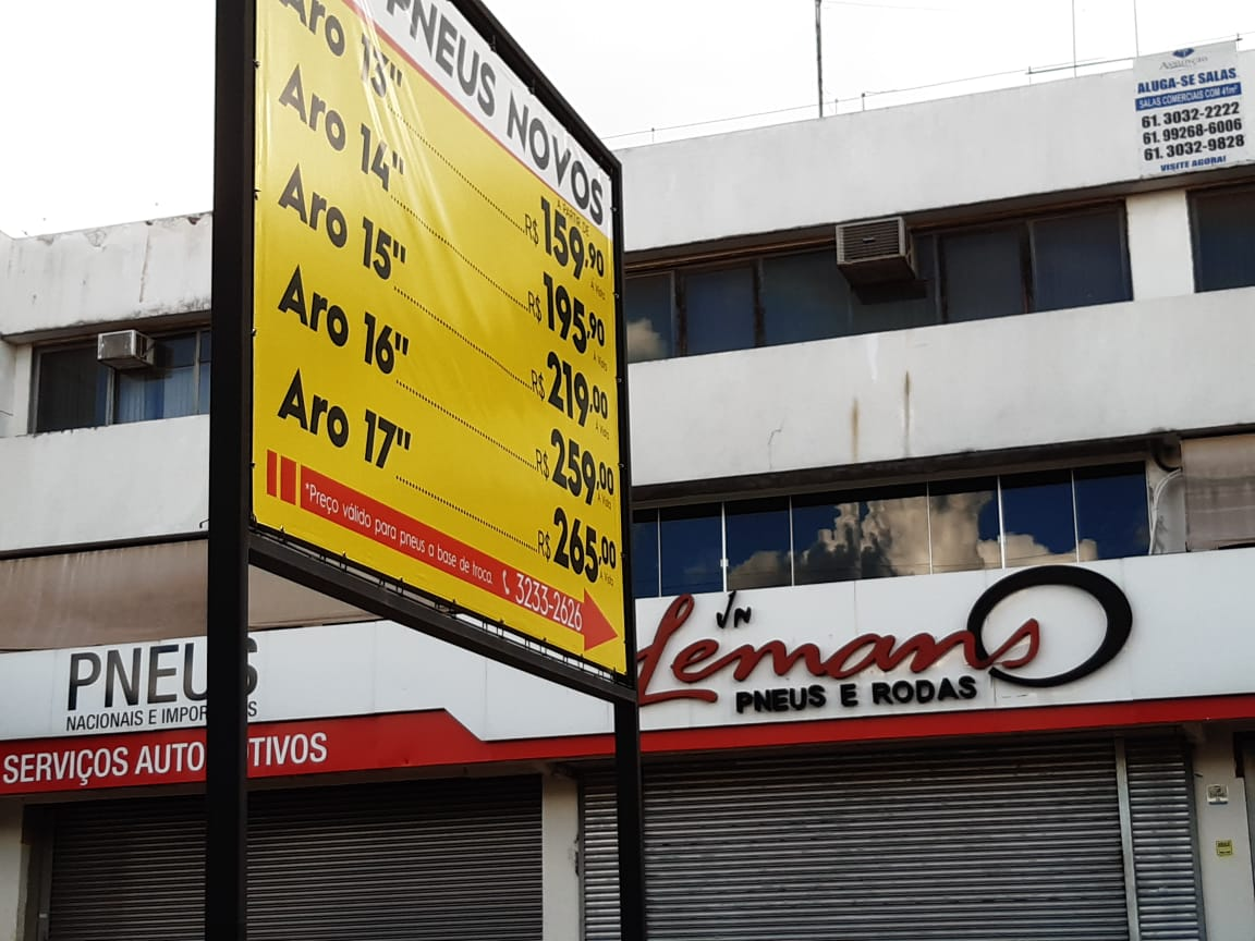 Lemans Pneu e Rodas, nacionais e importados, SIA Trecho 5, Comercio Brasilia
