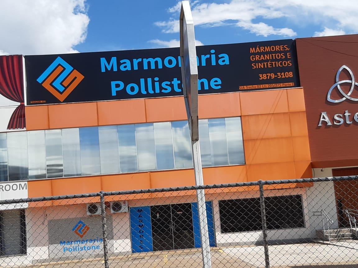 Marmoraria Pollistone, marmores granitos e sintéticos, SIA Trecho 2, Comercio Brasilia