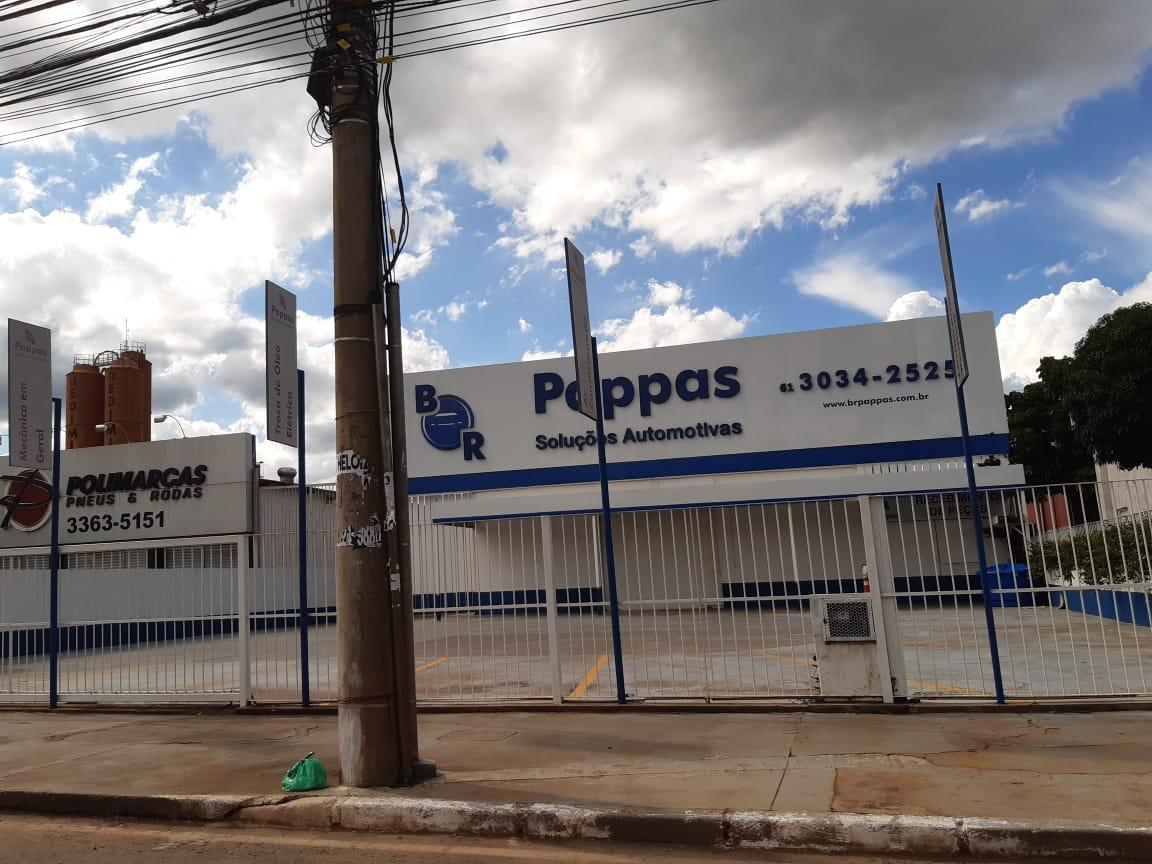 Pappas Soluções Automotivas, SIA Trecho 4, Comércio Brasilia