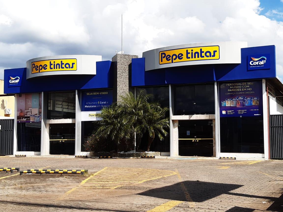 Pepe Tintas, Coral, SIA Trecho 2, Comercio Brasilia