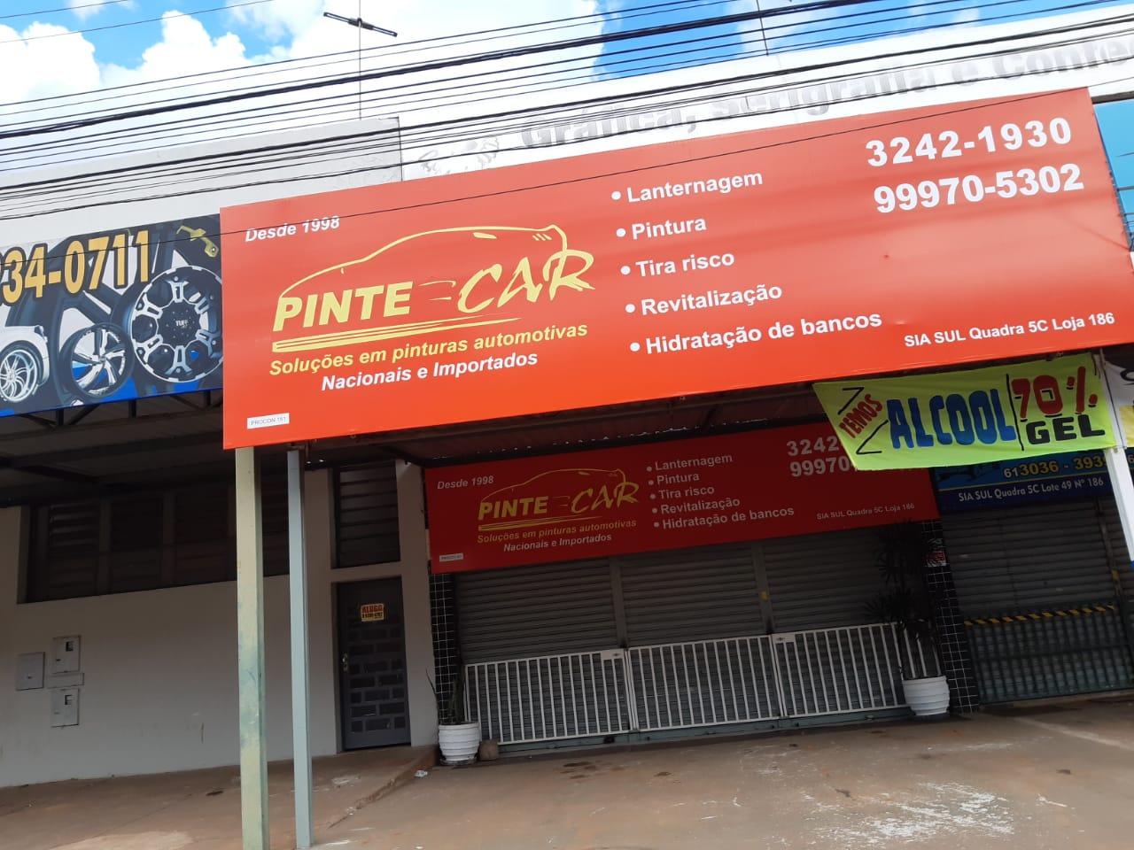 Pinte Car, Souções em pintura automotiva, Lanternagem, Pintura, tira risco, revitalização, SIA Trecho 5, Comercio Brasilia