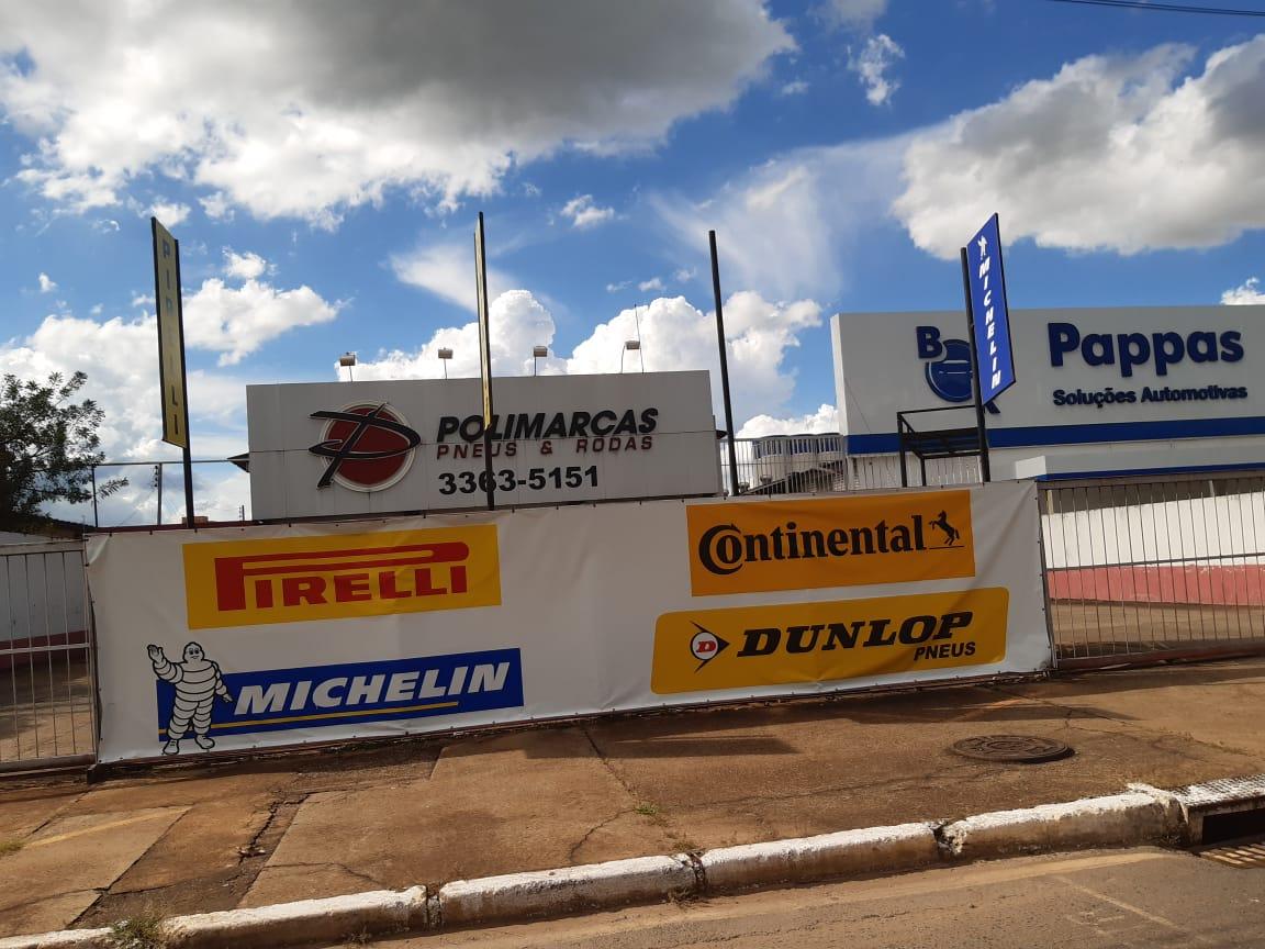 Polimarcas Pneus e Rodas, SIA Trecho 4, Comércio Brasilia