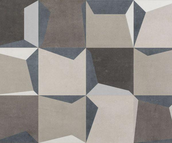 Revestimento Eliane Munari Shadow Mix Blue 45X90 em Brasilia