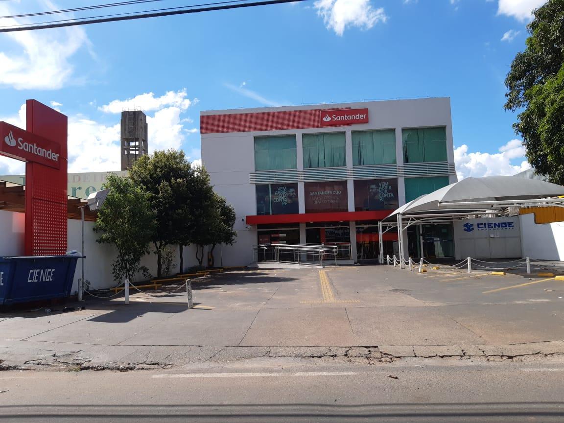 Santander agencia SIA Trecho 3, Comercio Brasilia