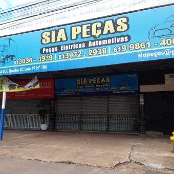 Sia Peças, Peças elétricas automotivas, SIA Trecho 5C, Comercio Brasilia