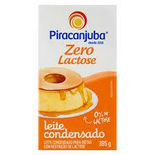 Leite Condensado Zero Lactose Piracanjuba 200 gramas