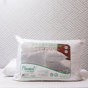 Travesseiro Alto de Pena de Ganso PlumaSul 50x70cm