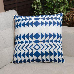 Almofada de Algodão Lisboa Azul  45x45cm
