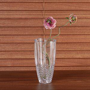 Vaso de Vidro Orion Bohemia Transparente 20cm