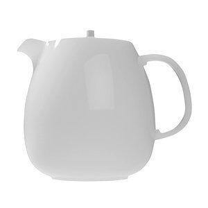 Bule Germer de Porcelana Branco 550ml