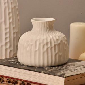 Vaso Decorativo Apple I Branco D18cm